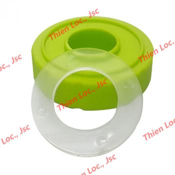 Gia công sản phẩm nhựa - nắp lõi lọc và gioăng