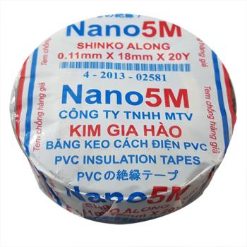Băng điện Nano 5M Shinko Along nhiều màu